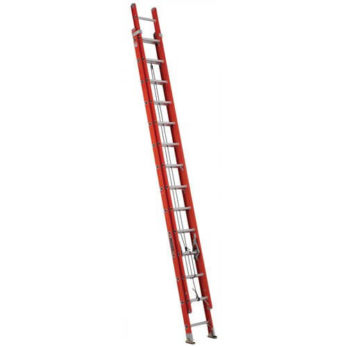 Louisville Ladder FE3228 Fiberglass Extension Ladder 300-Pound Capacity, 28-Feet