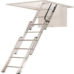 The Werner (AA1510) Aluminum Attic Ladder
