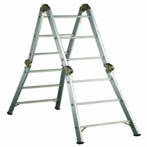 • Folding/ articulated ladder
